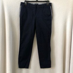 J. Crew size 0 Cafe Capri Pants Navy
